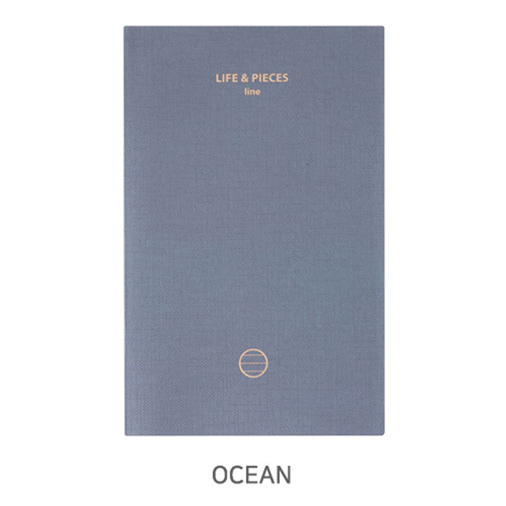 Ocean - Livework Life and pieces small lined notebook