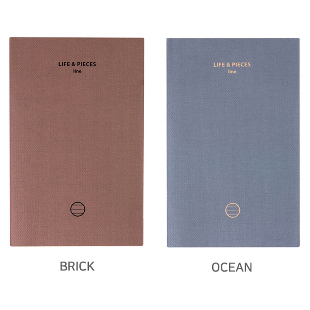 Option - Livework Life and pieces small lined notebook