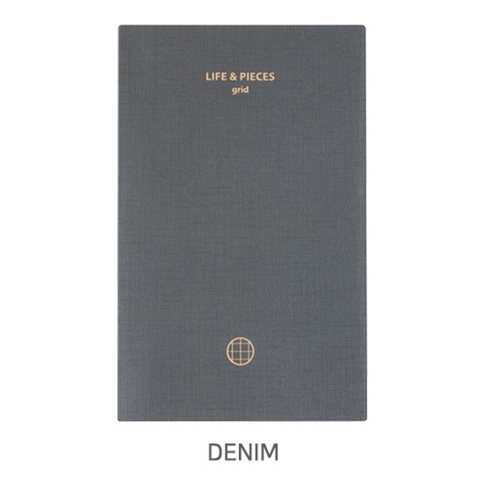 Denim - Livework Life and pieces small grid notebook