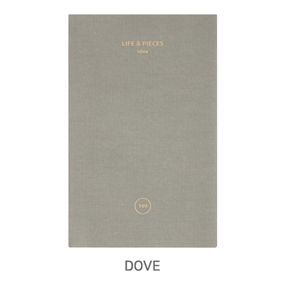 Dove - Livework Life and pieces small idea blank notebook
