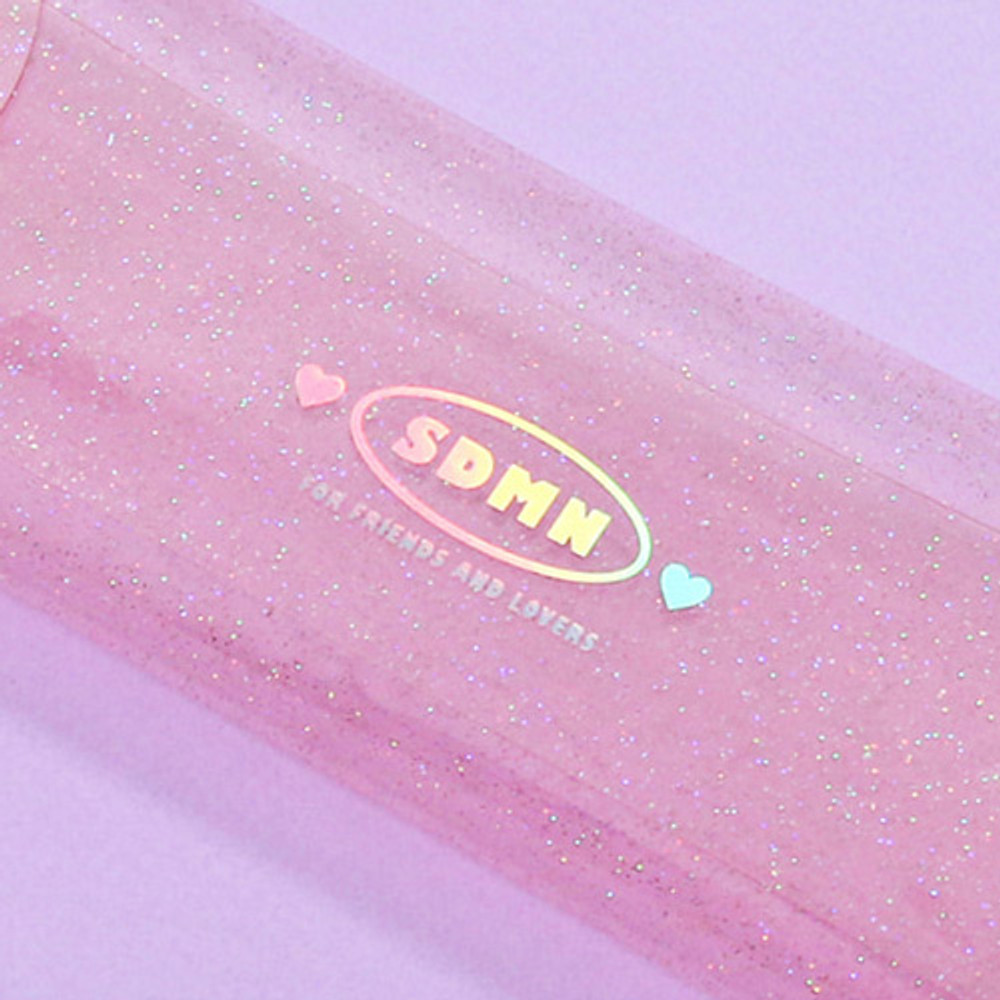 Hologram twinkle - Second Mansion Moonlight twinkle folding pencil case pouch