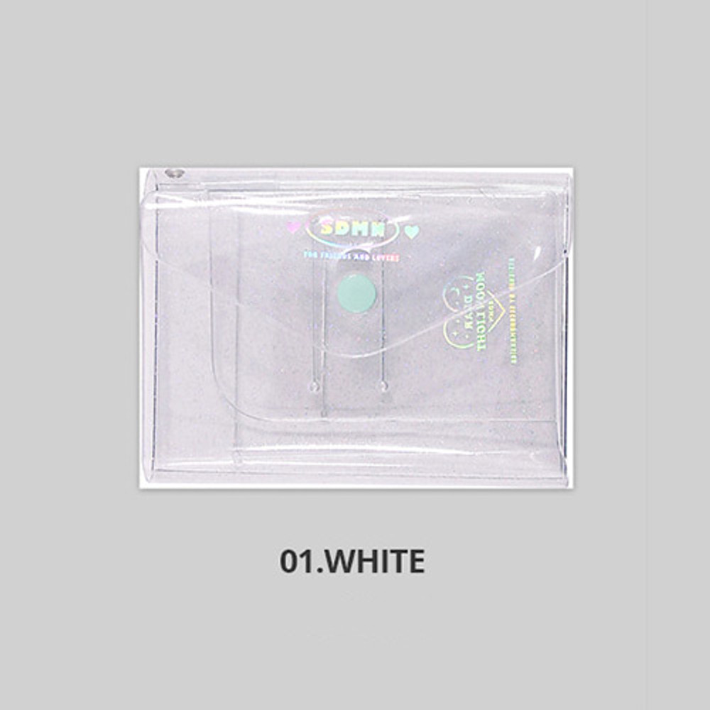 White - Second Mansion Moonlight twinkle notepad notebook organizer