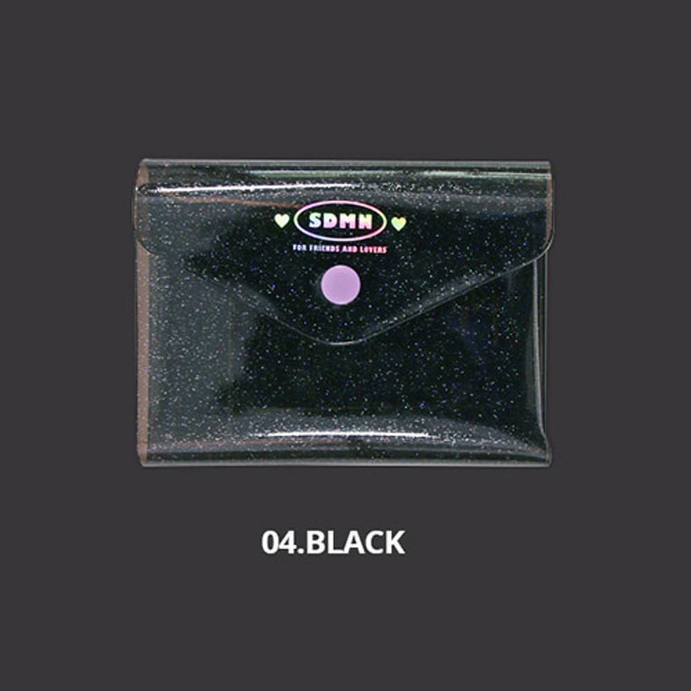 Black - Second Mansion Moonlight twinkle notepad notebook organizer