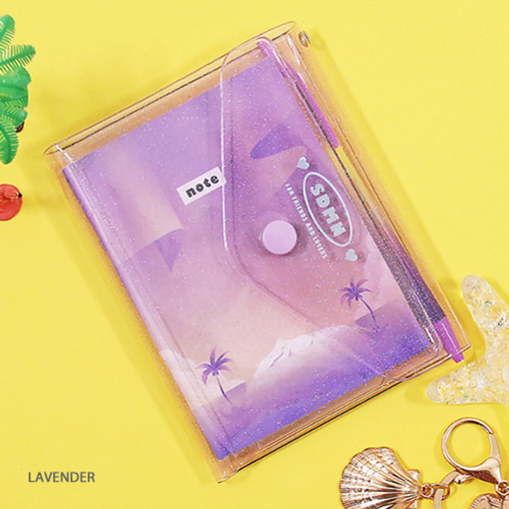 Lavender - Second Mansion Moonlight twinkle notepad notebook organizer