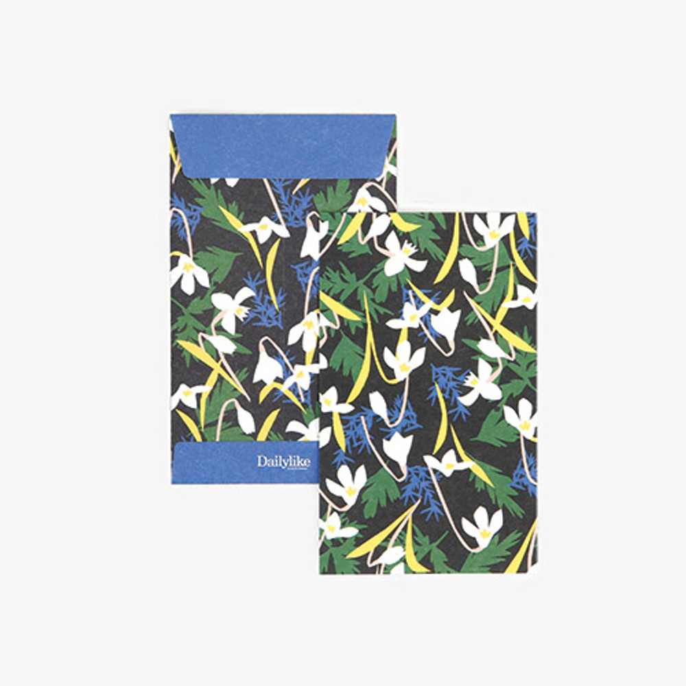 Dailylike Snowdrop small card and envelope set