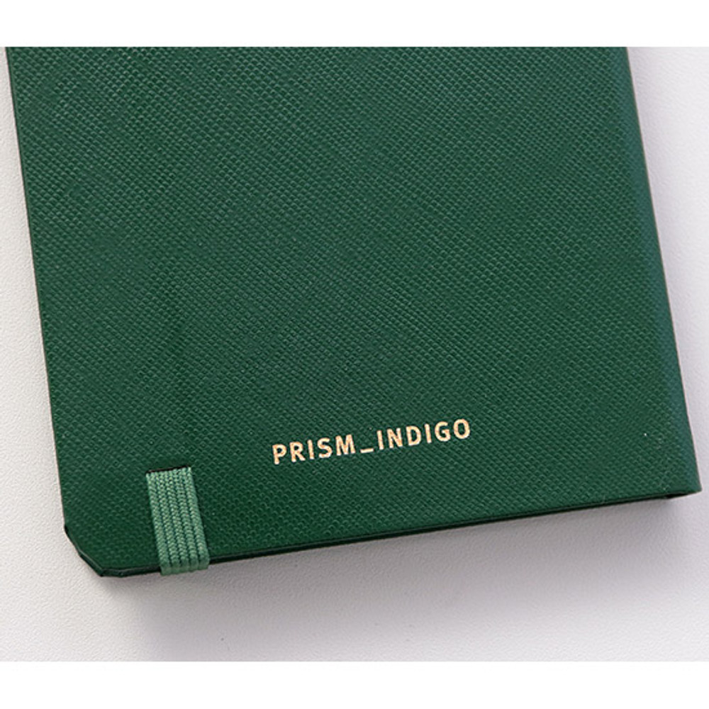 Elastic band closure - Prism 180 pages small blank notebook with elastic band