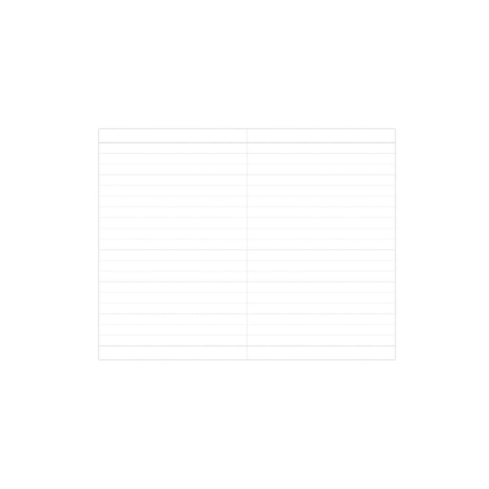 Ruled pages - Prism 180 pages medium lined notebook with elastic band