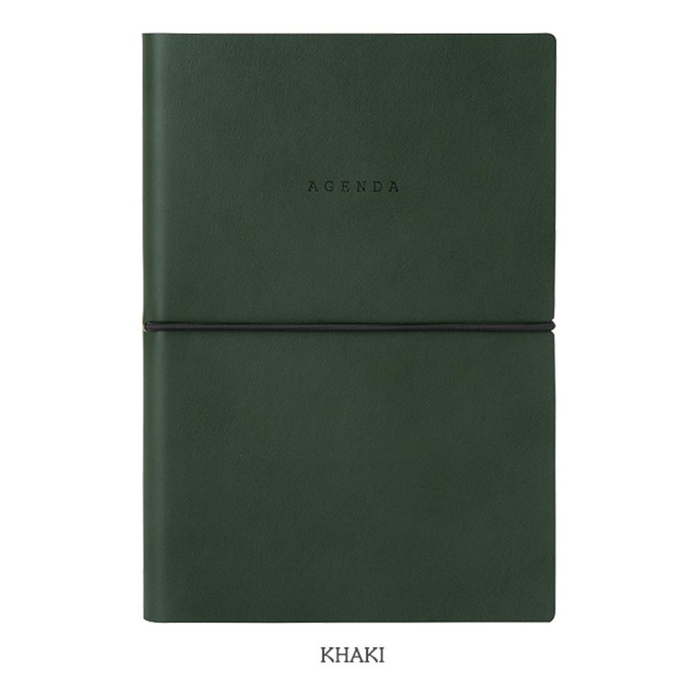 Khaki - Livework Agenda large grid notebook ver4