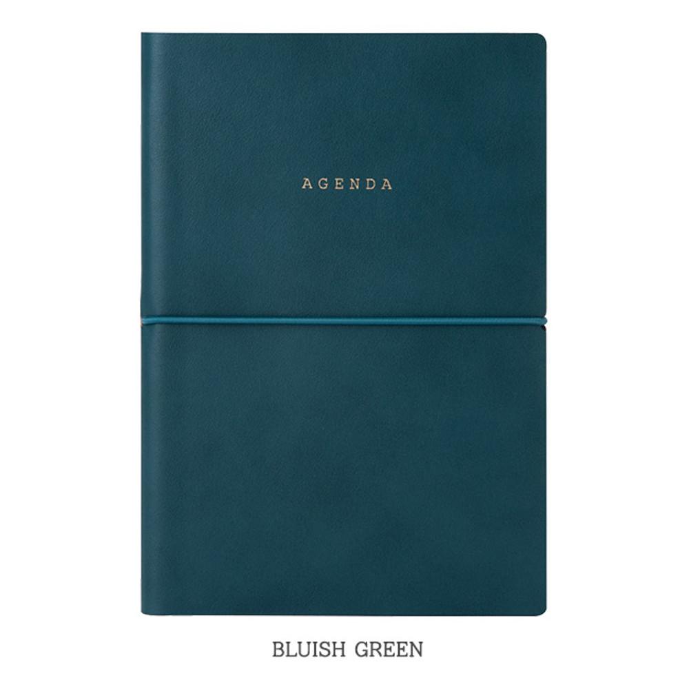 Bluish green - Livework Agenda large grid notebook ver4