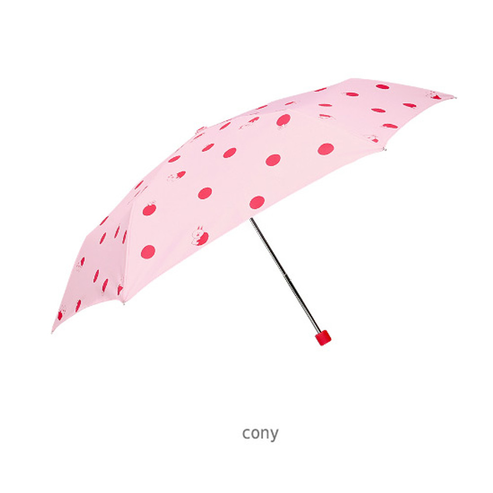 Cony - Monopoly Line friends hanging ultralight 3 fold umbrella