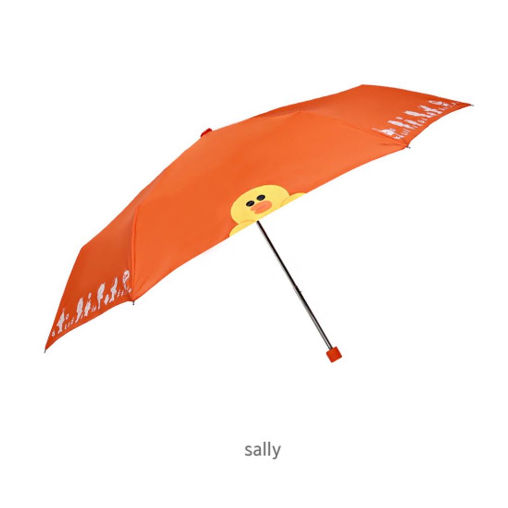 Sally - Monopoly Line friends ultralight 3 layer umbrella