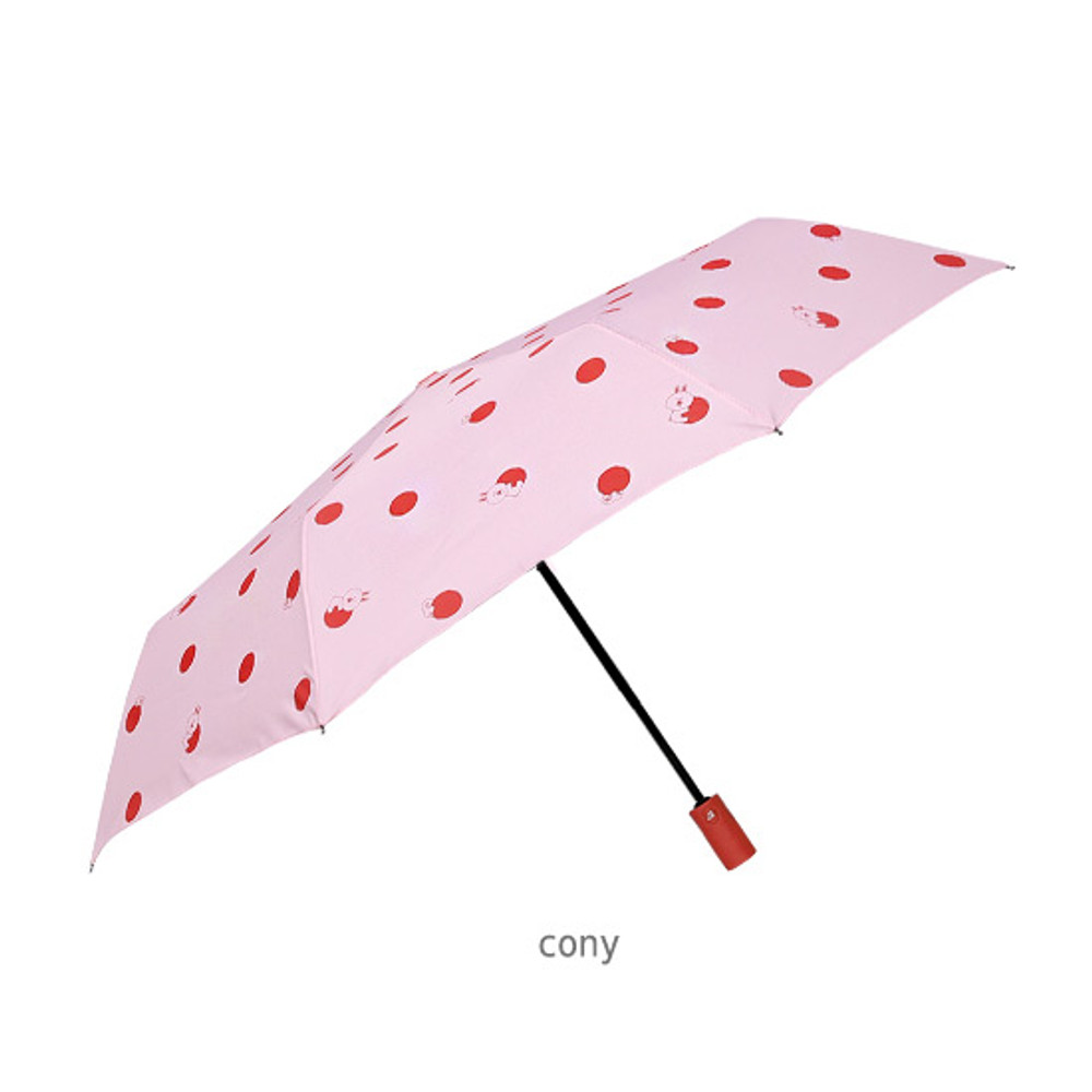 Cony - Monopoly Line friends hanging automatic 3 fold umbrella