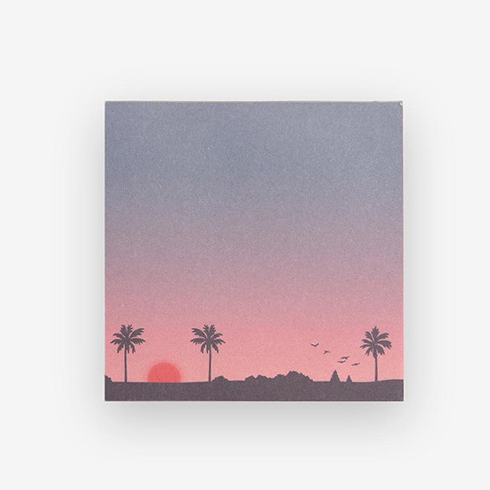 Dailylike Sunset 2 designs memo writing notepad