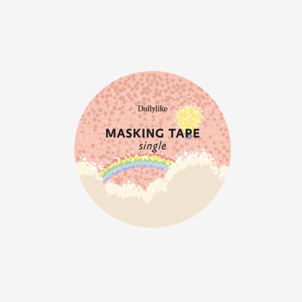 Dailylike Cumulus single roll paper deco masking tape
