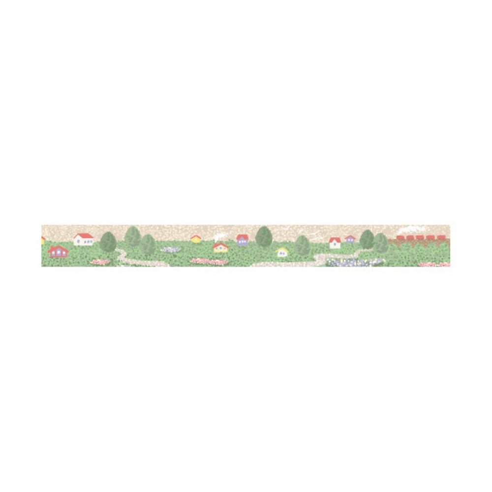 Dailylike Village single roll paper deco masking tape
