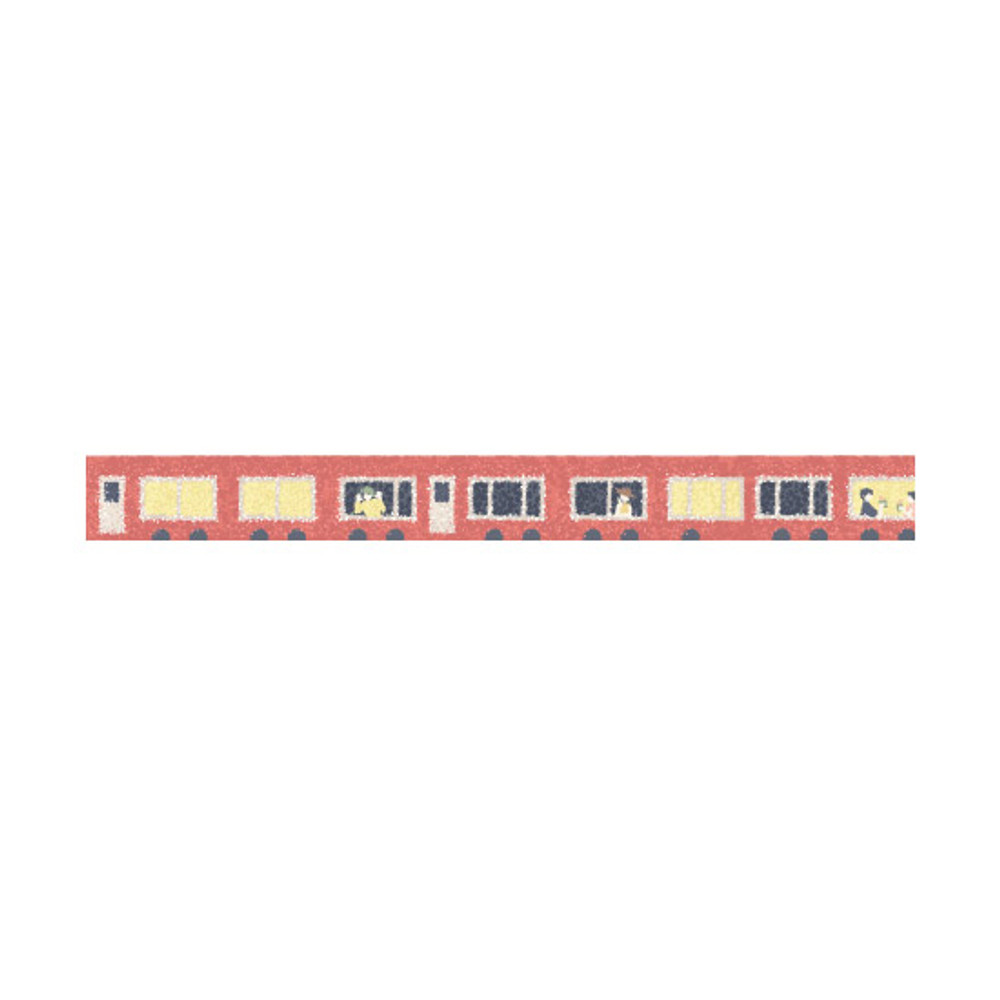 Dailylike Train single roll paper deco masking tape
