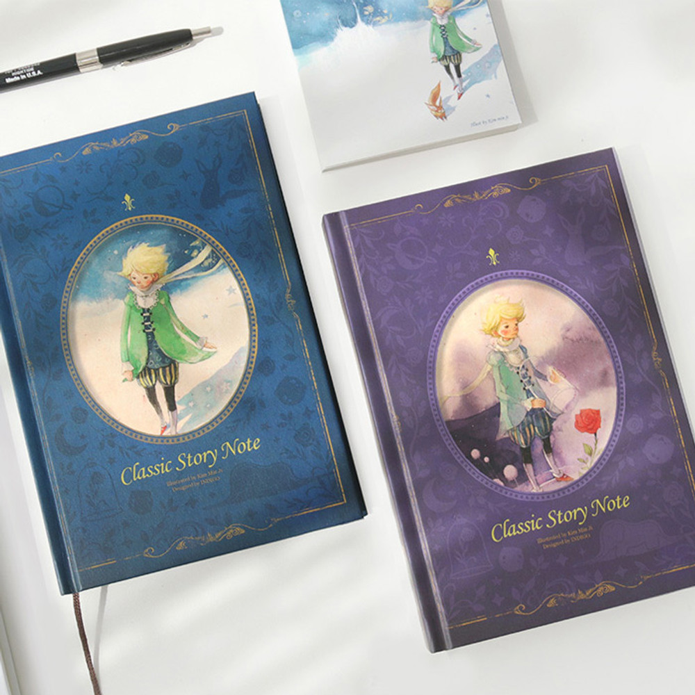 Indigo Classic story 272 pages hardcover blank notebook