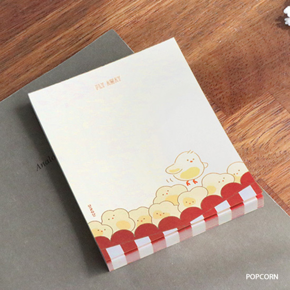 Popcorn - ICONIC Friends 80 sheets memo writing notepad