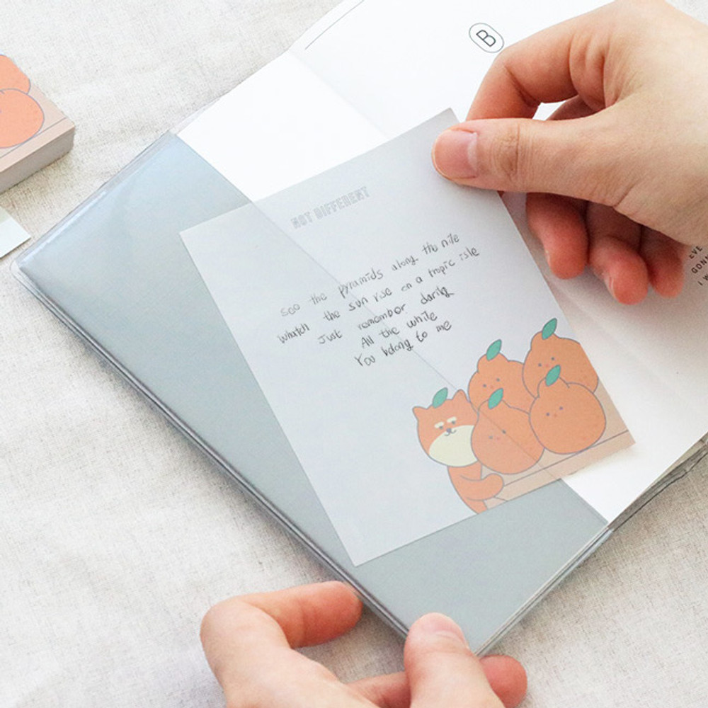 Example of use - ICONIC Friends 80 sheets memo writing notepad