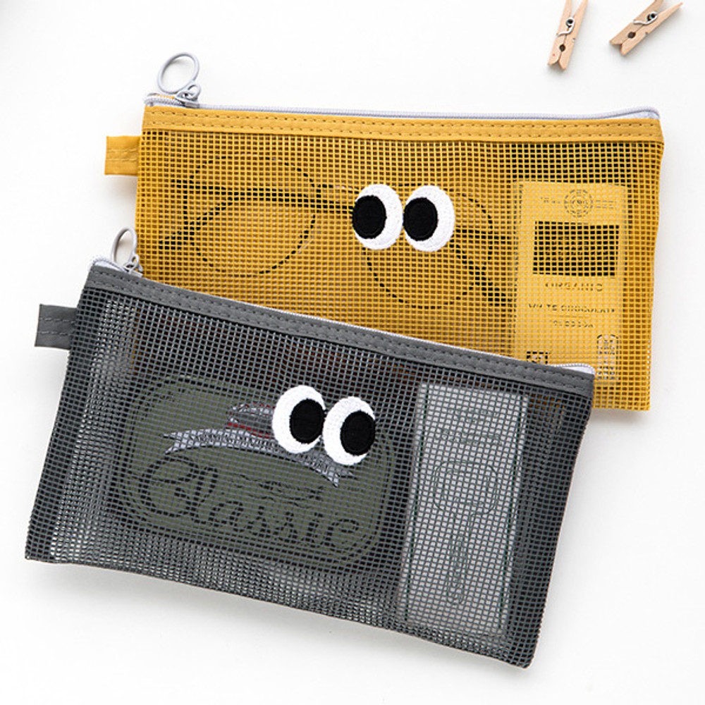 Example of use - Livework Som Som stitch mesh zipper pouch ver2
