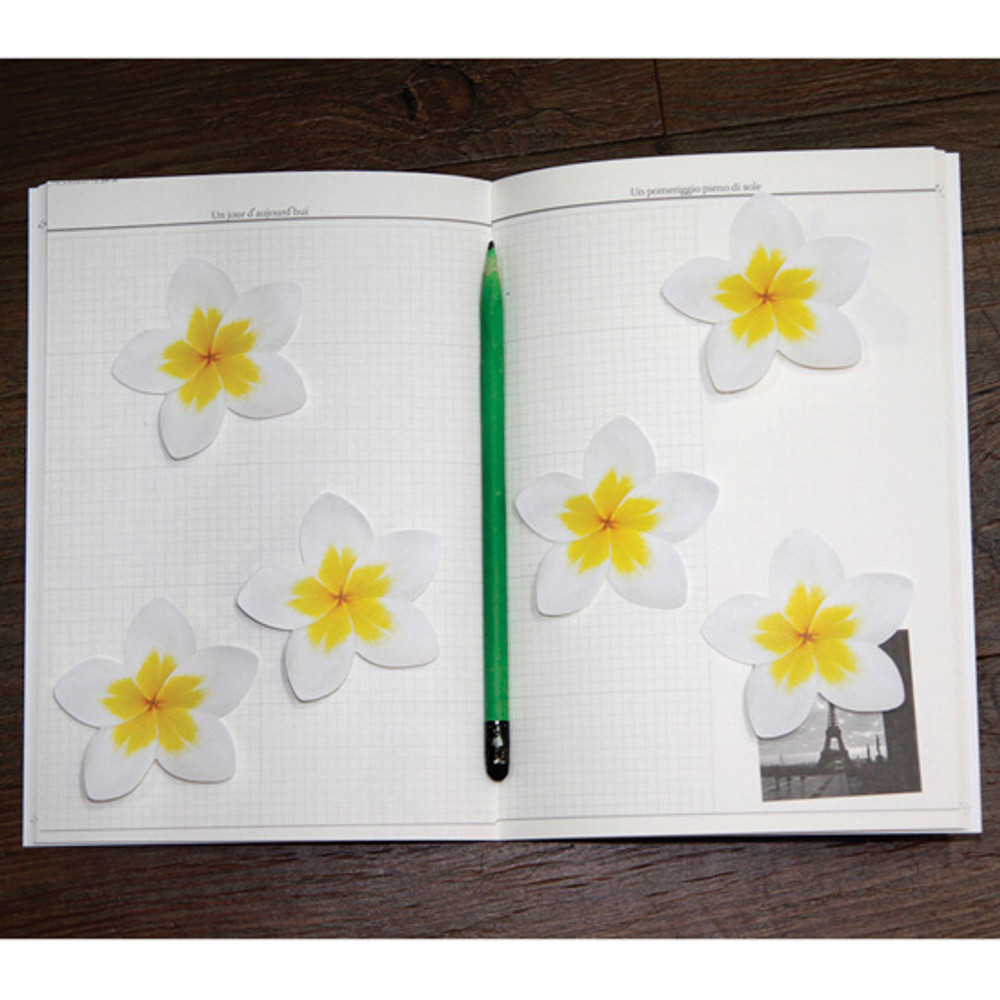Inndesign Plumeria sticky note 30 sheets