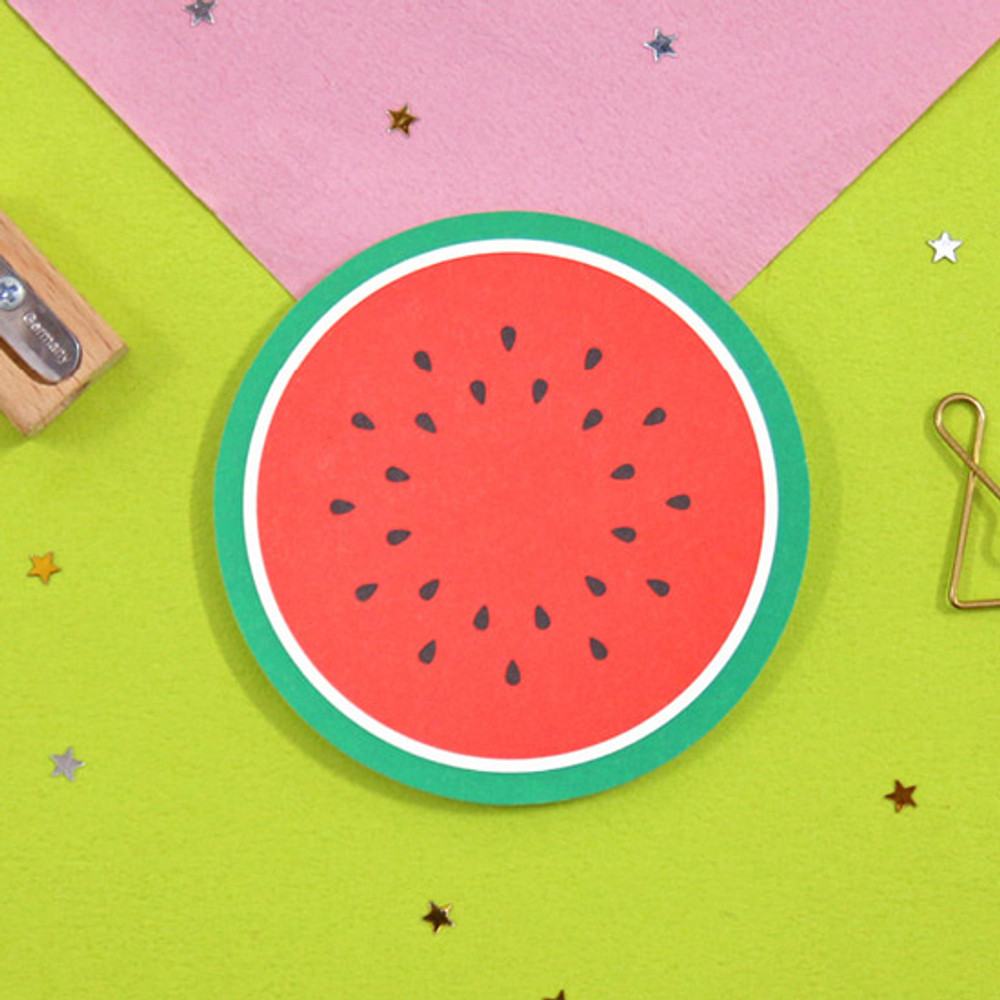 Watermelon - Second Mansion Fruits sticky notes memo pad