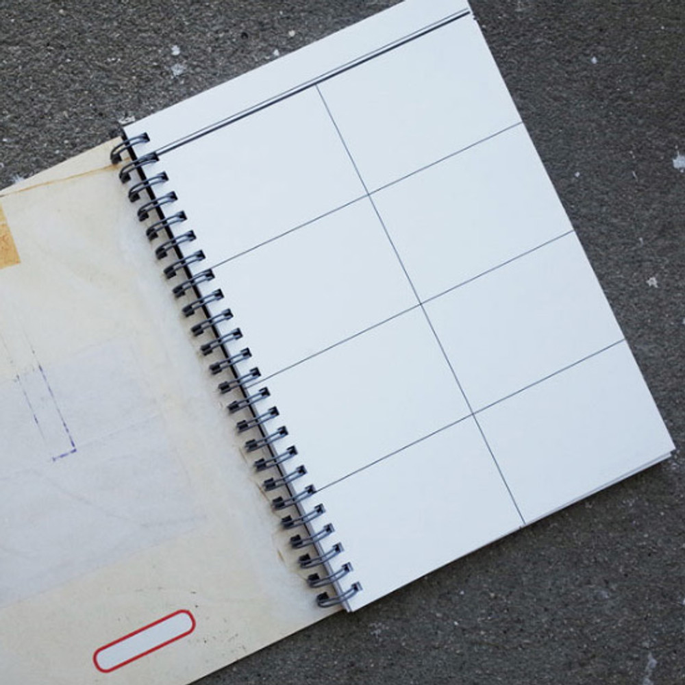 UNIVERSAL CONDITION Continuity 8 pieces spiral grid notebook