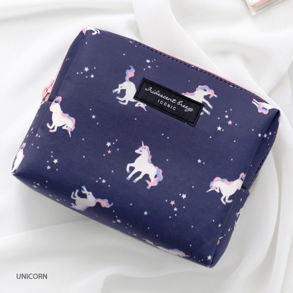 Unicorn - ICONIC Comely pattern makeup cosmetic pouch bag