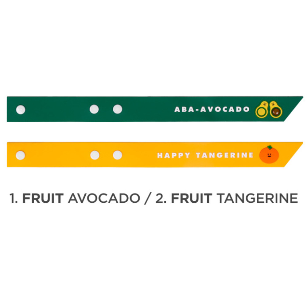 Avocado, Tangerine - Be on D 90s coolkids party travel luggage name tag