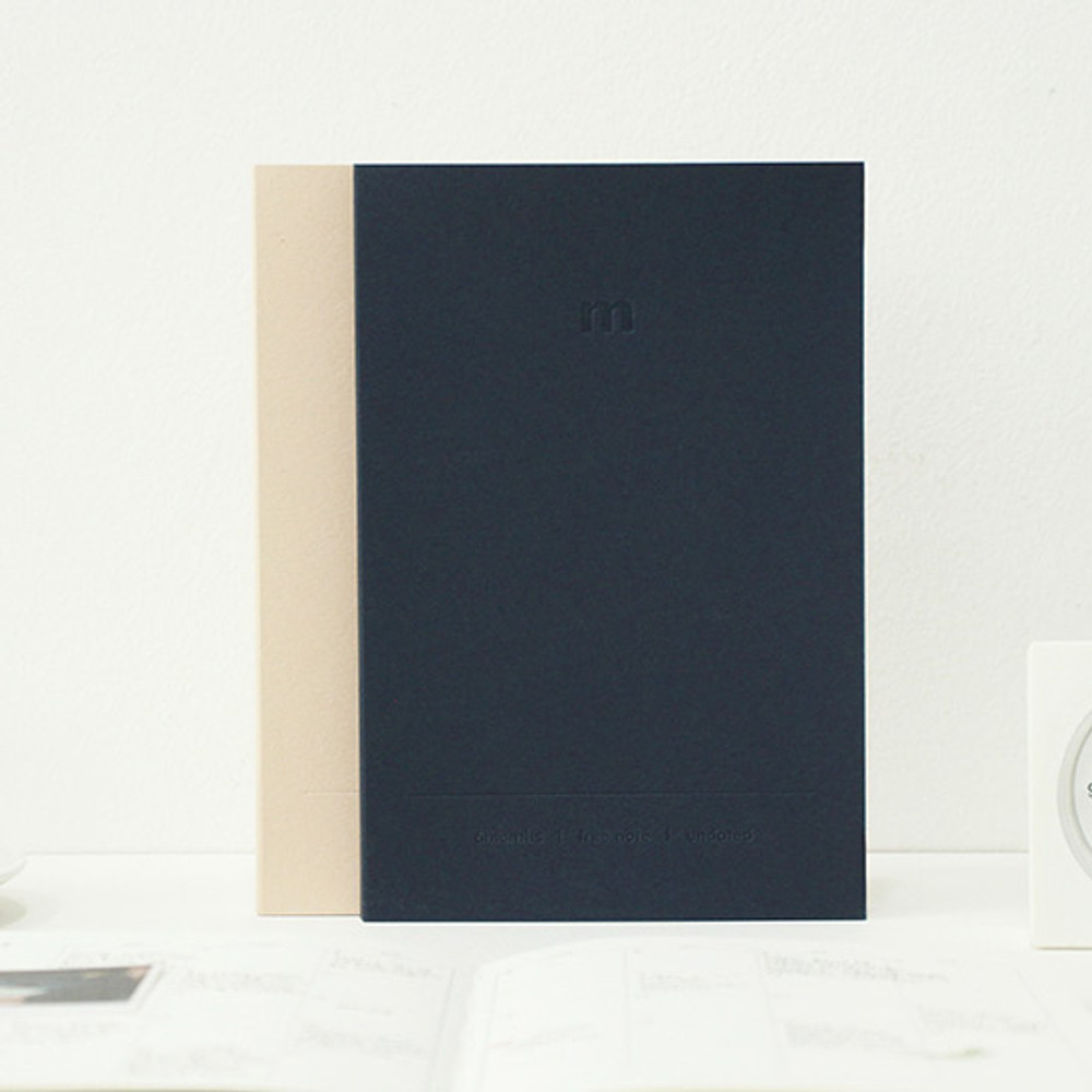 Indigo 6 Months dateless monthly diary planner