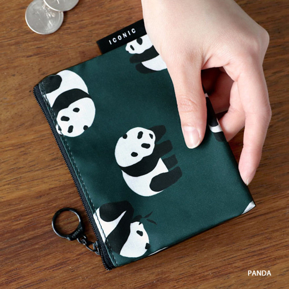 Panda - ICONIC Comely water resistant xs size flat pouch bag