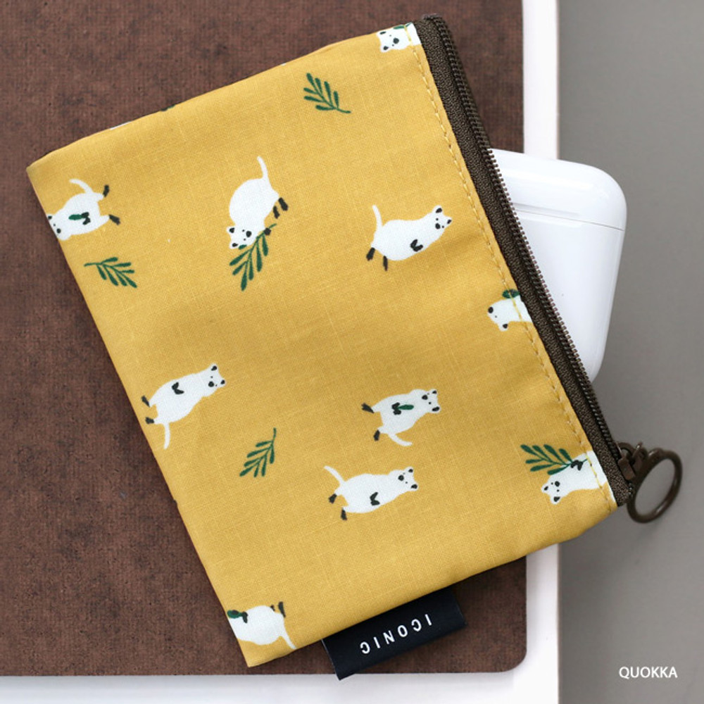 Quokka - ICONIC Comely water resistant xs size flat pouch bag