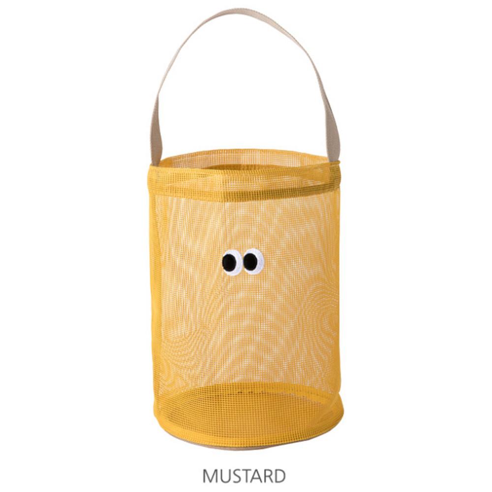 Mustard - Livework Som Som stitch mesh tote bag ver2