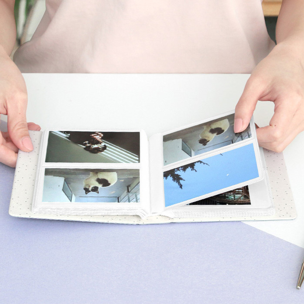 ICONIC Instax mini polaroid slip in photo album ver4