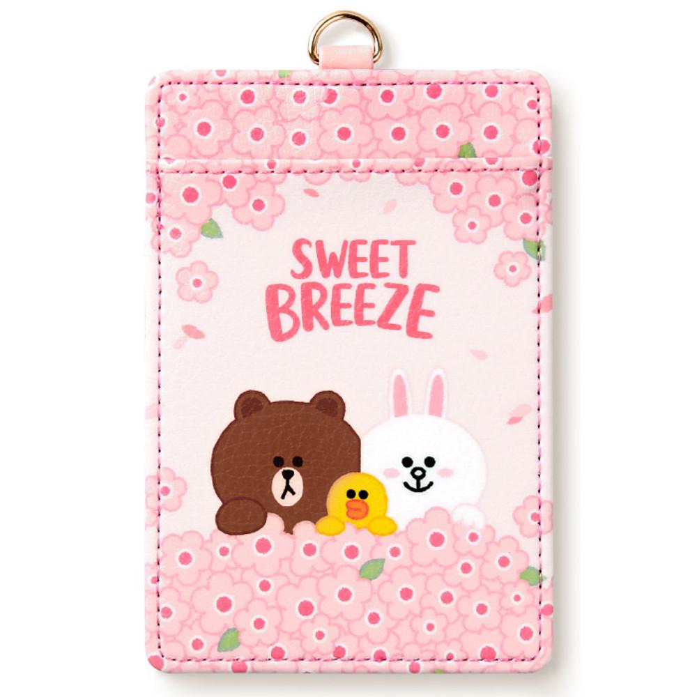 Monopoly Line friends sweet breeze card case holder