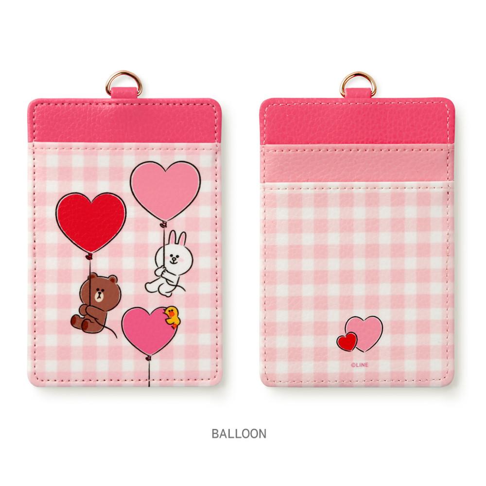 Balloon - Monopoly Line friends sweet breeze card case holder