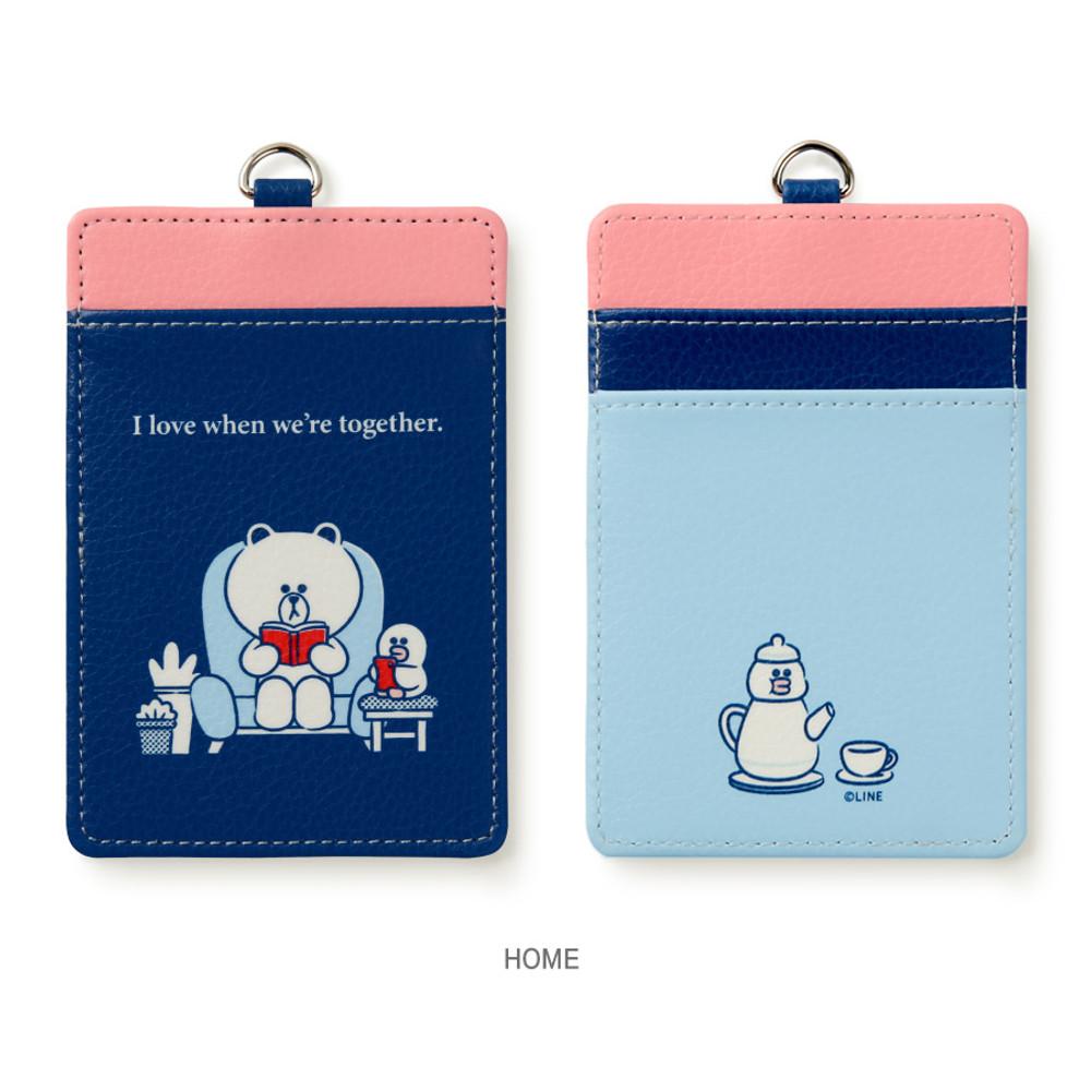 Home - Monopoly Line friends sweet breeze card case holder
