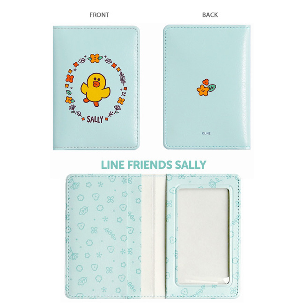 Sally - Monopoly Flower line friends card case holder