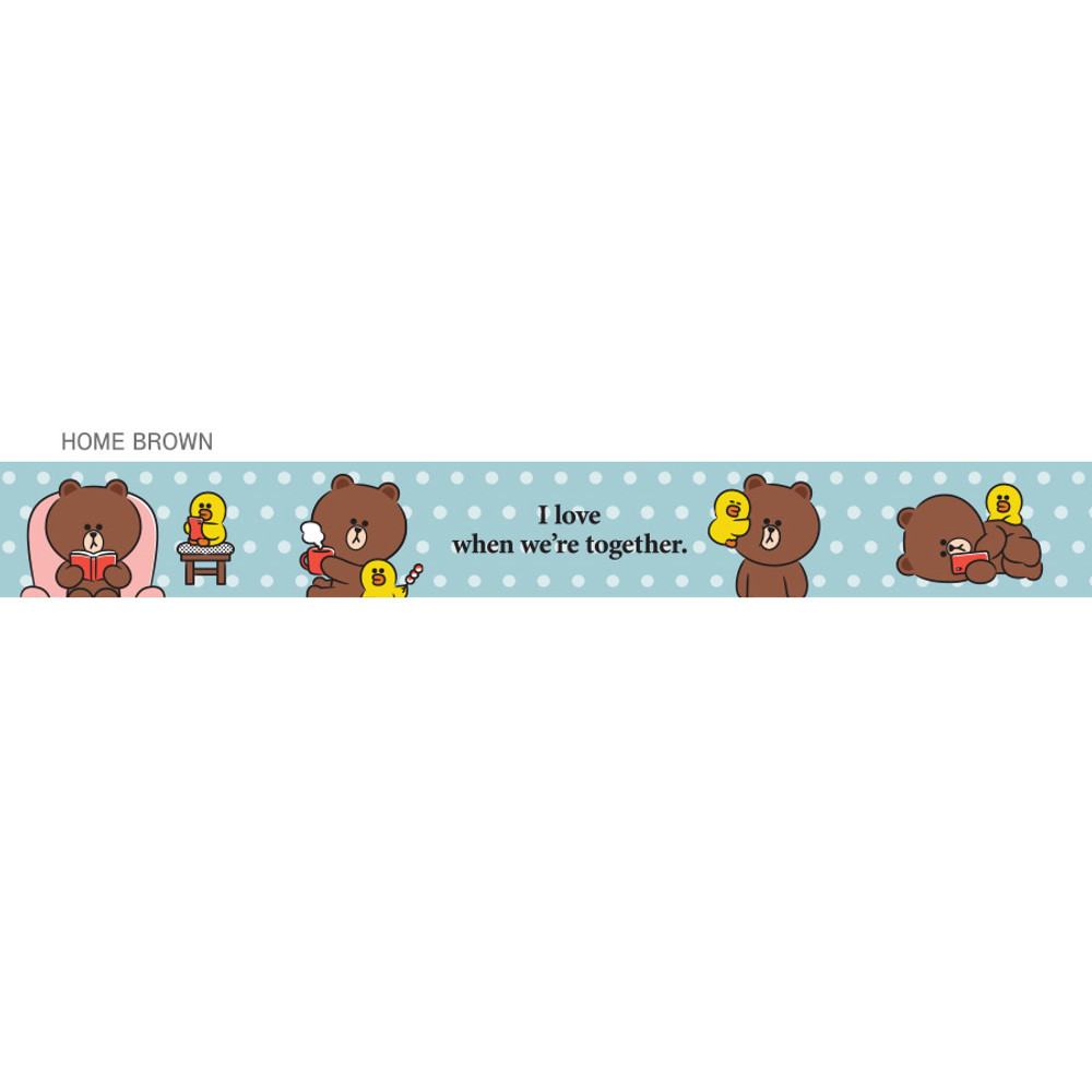 Home brown - Monopoly Cute line friend cupid and home neck strap