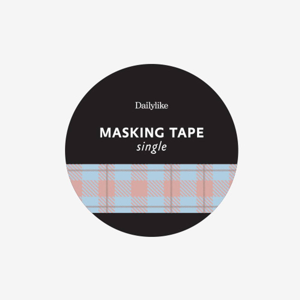 Package - Dailylike Vintage check single roll paper masking tape