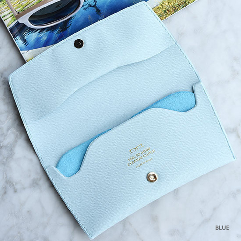 Blue - Play Obje Feel so good eyewear clutch pouch bag