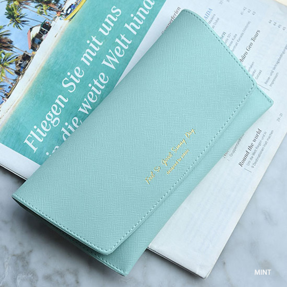 Mint - Play Obje Feel so good eyewear clutch pouch bag