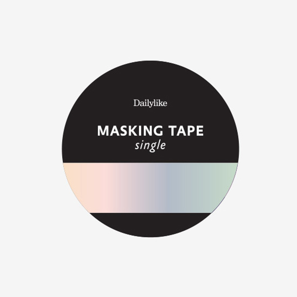 Package of Dailylike Hologram single roll paper masking tape