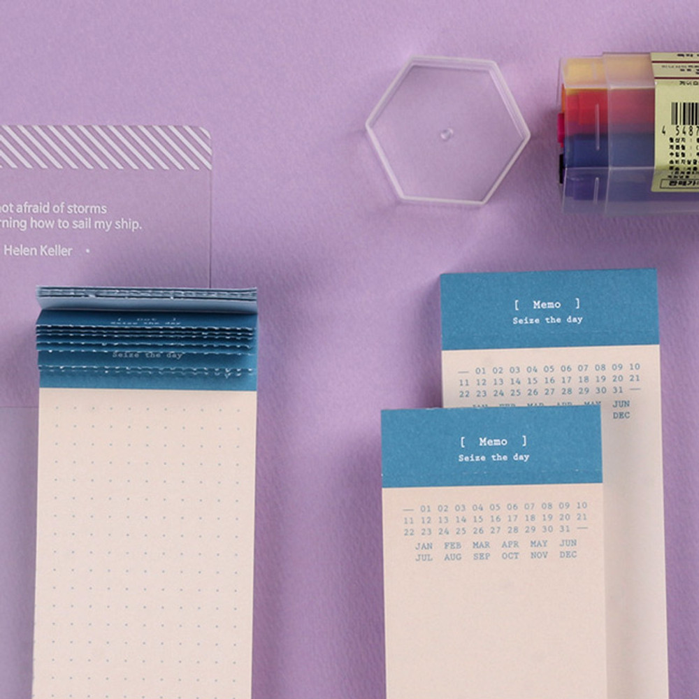 Wanna This Seize the day basic memo notepad