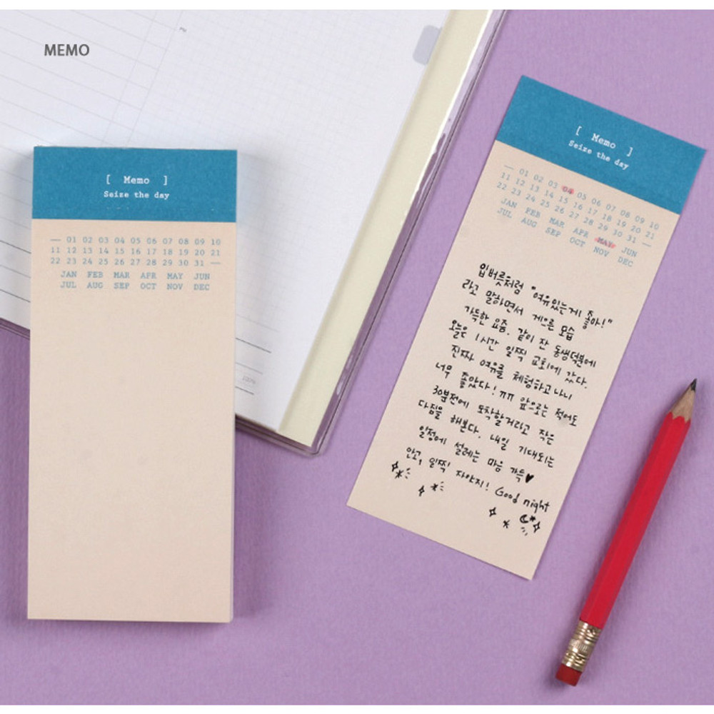 Memo - Wanna This Seize the day basic memo notepad