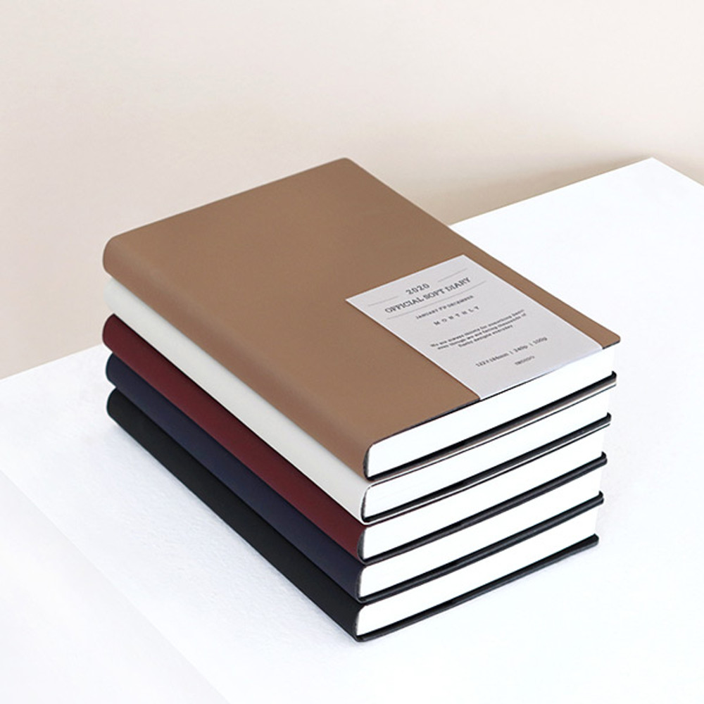 Example of use - Indigo 2020 Official soft dated weekly planner notebook
