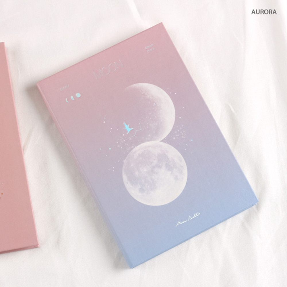 Aurora dream moon - Dash And Dot Moon special undated weekly diary journal