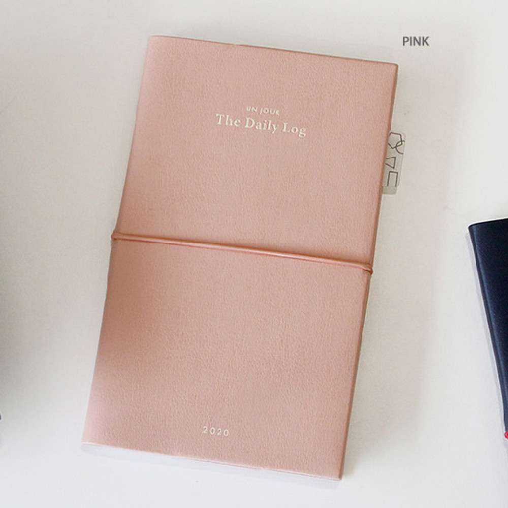 Pink - GMZ 2020 The daily log medium dated weekly diary planner