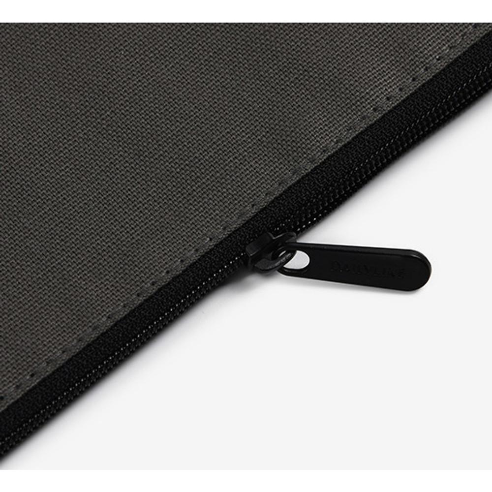 Zipper pouch - Dailylike Embroidery rectangle fabric zipper pouch - Hula hoop bear