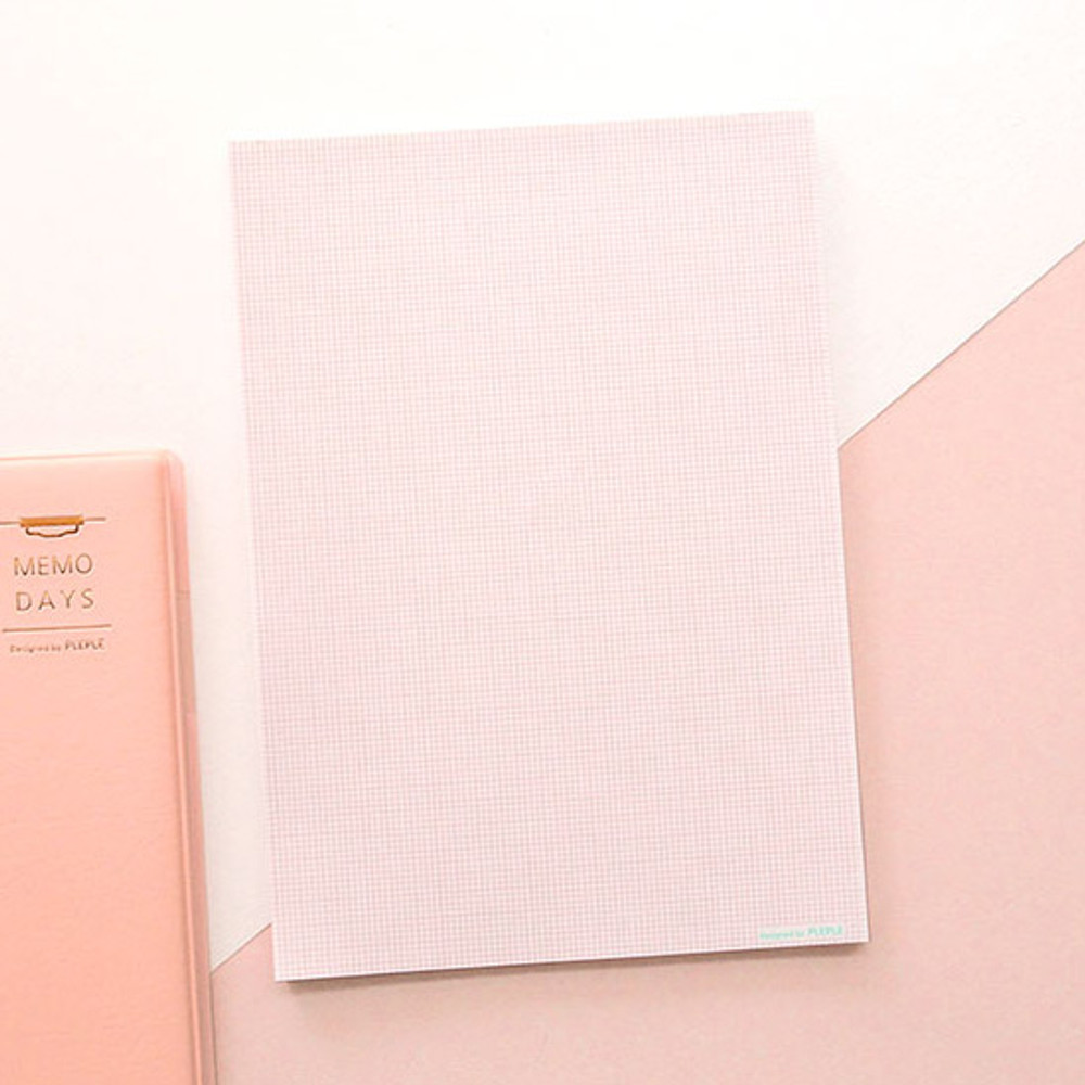 Comes with notepad- PLEPLE Memo days A5 size foldover clipboard set